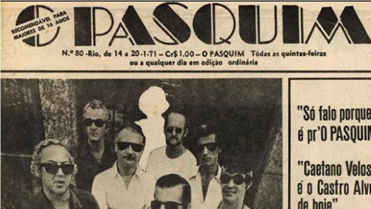 Há 50 anos nascia no Rio O Pasquim, o jornal que debochou da ditadura